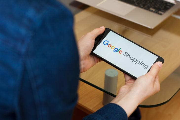 Google Shopping shutterstock website