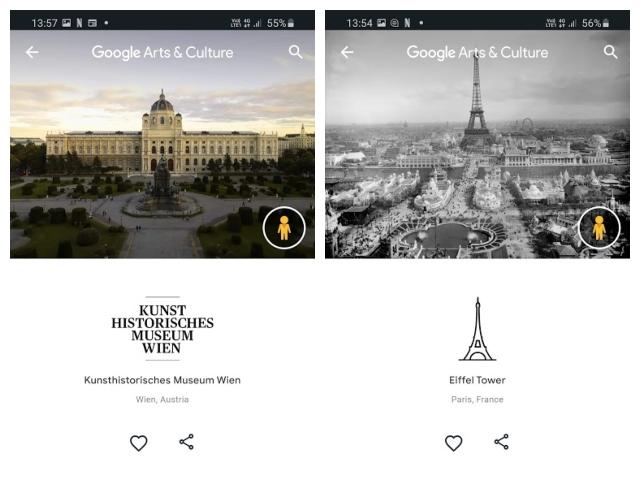 Google art and culture explore