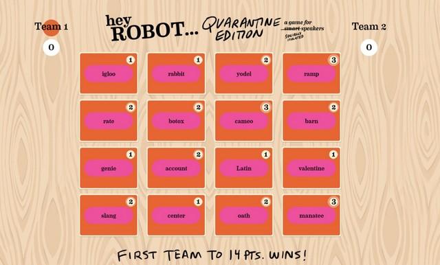 Hey robot 1