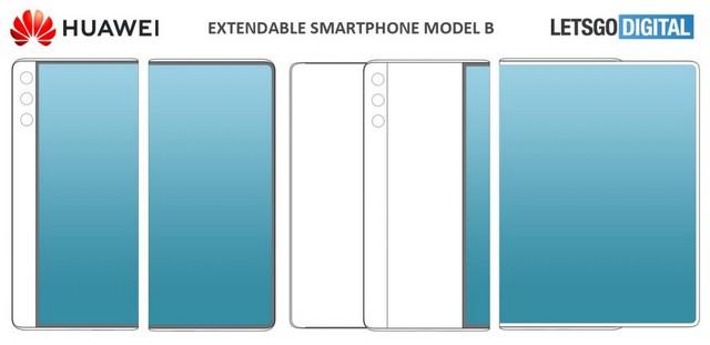 Huawei patent model b