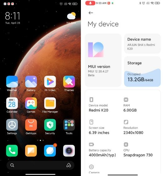 Install MIUI 12 on Any Xiaomi Device