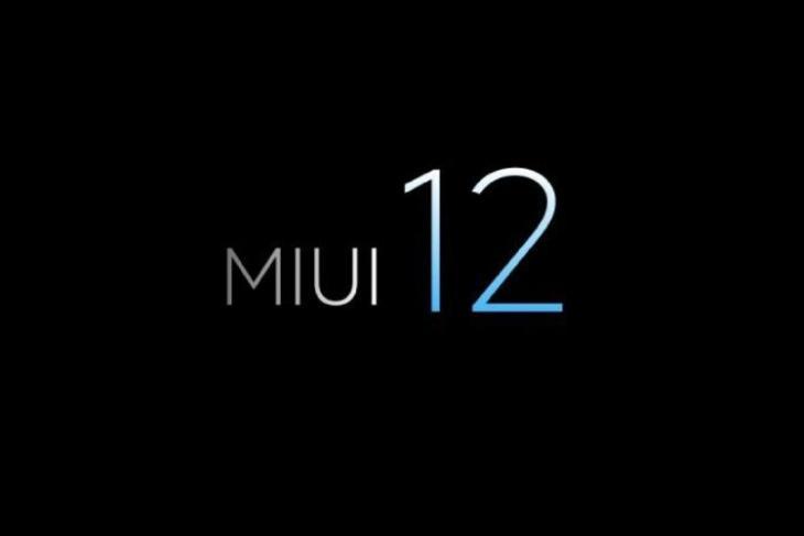 MIUI 12 leaks