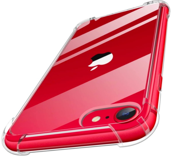 MoKo iPhone SE 2 clear case