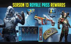 PUBG Mobile season 13 battle pass rewards websitet