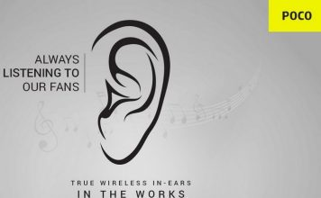 Poco Confirms TWS Earbuds Launch in India
