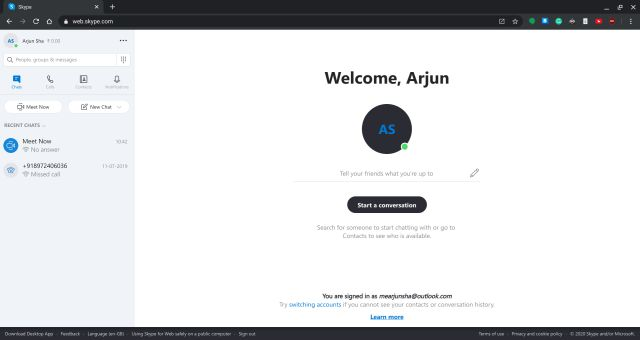 Get Skype for Chromebook Working: Web App