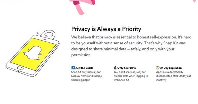 Snapchat privacy