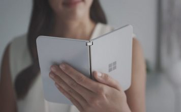 Microsoft Surface Duo camera feat.
