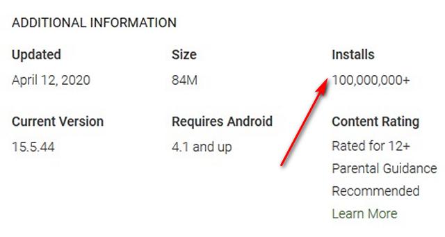 TikTok Now Has 1 Billion Downloads on Android