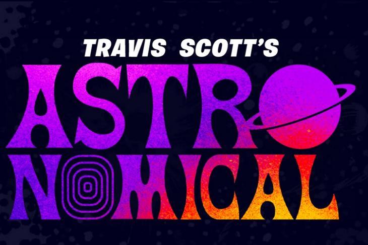 Travis Scott Astronomical Fortnite website