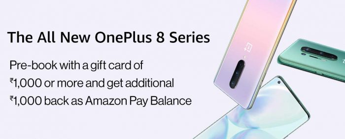 oneplus 8 amazon india pre-order