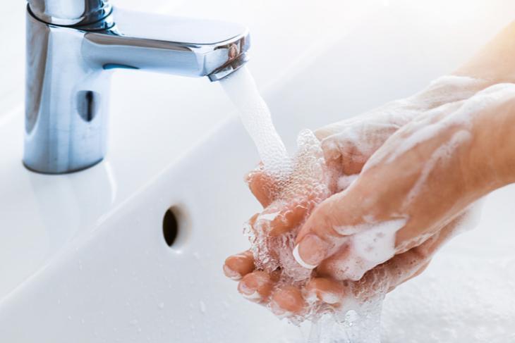 Wash hands WearOS feat