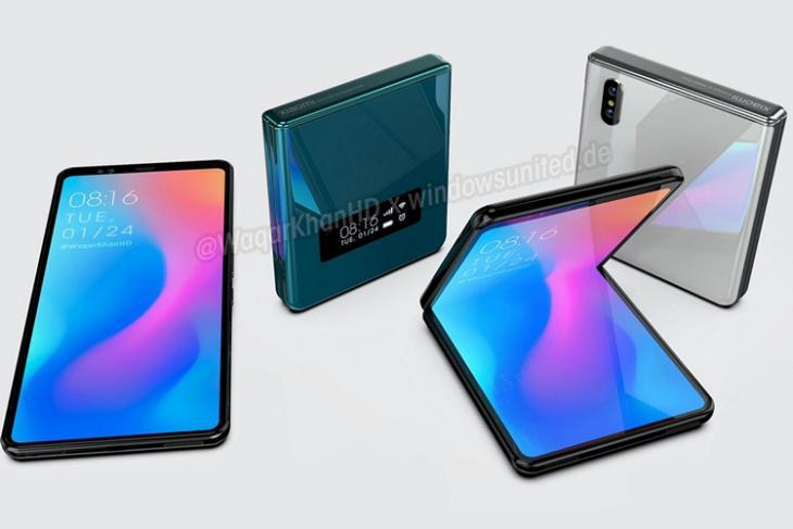 Xiaomi Foldable Clamshell website