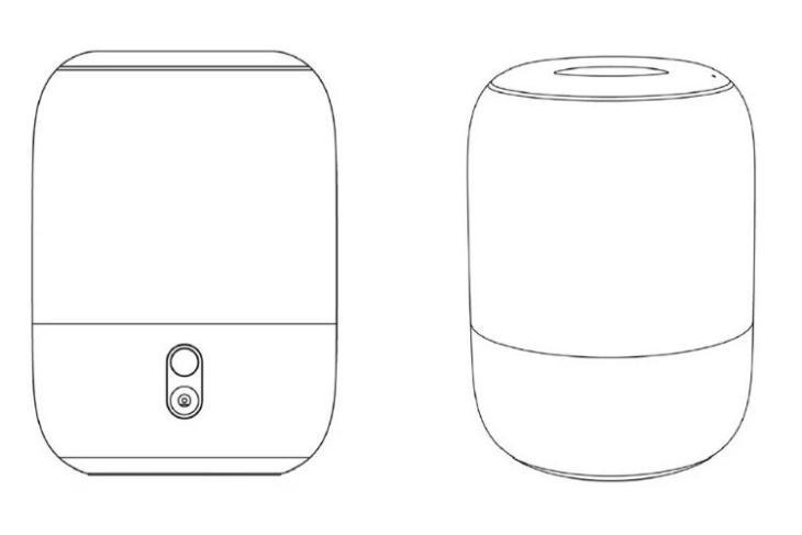 Xiaomi smart speaker with HomePod design
