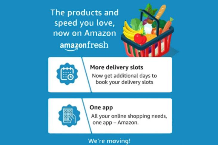 amazon fresh prime now amazon india