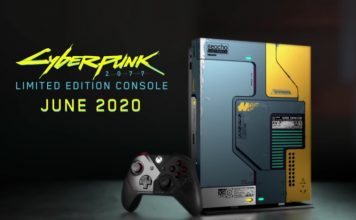 cyberpunk 2077 xbox one x unveiled