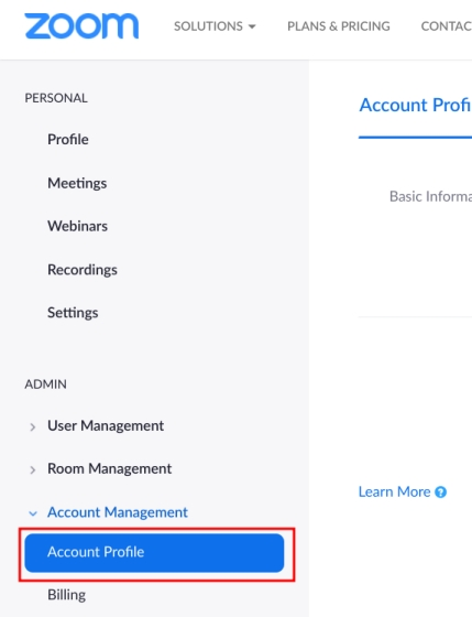 Delete Zoom Account on Windows, macOS, Android and iOS