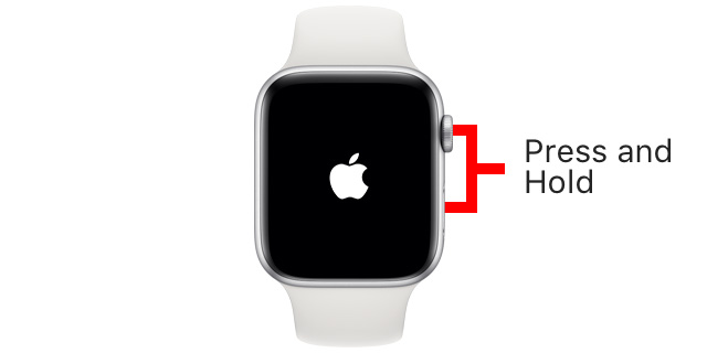 force restart apple watch