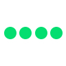apple watch four green dots icon meaning