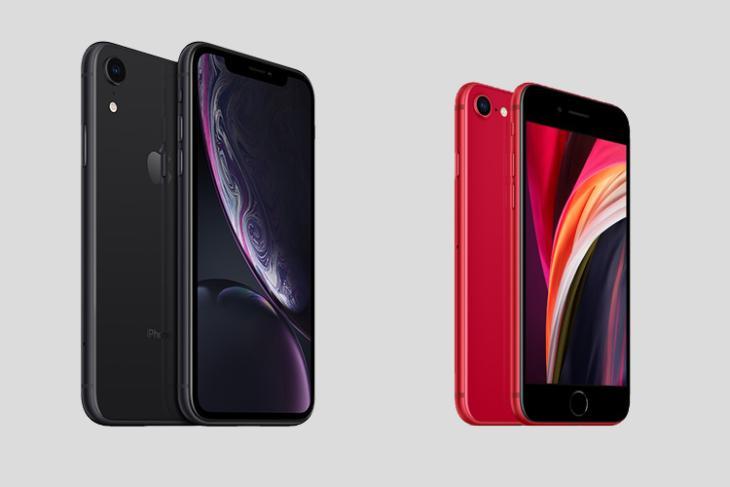 iphone se vs iphone xr comparison 1