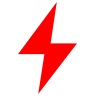 apple watch red lightning icon meaning