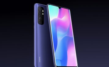 mi note 10 lite launched