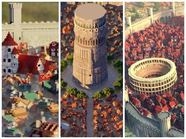 minecraft city 0