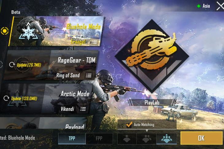 pubg mobile update bluehole mode