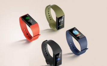 redmi band first look