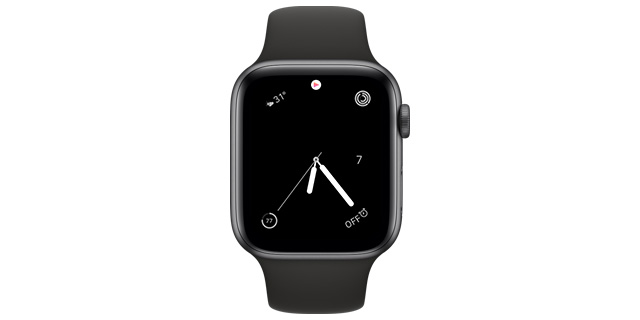 simple water apple watch face