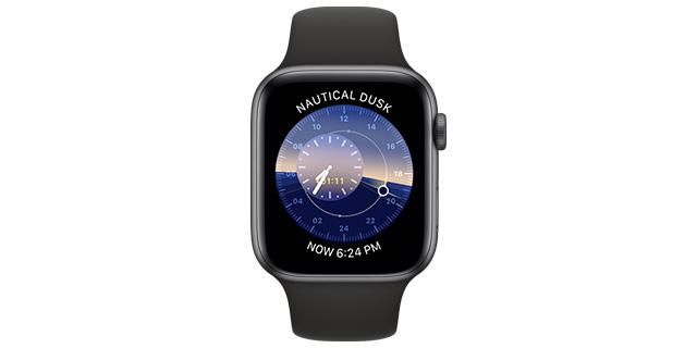 solar water apple watch face 2
