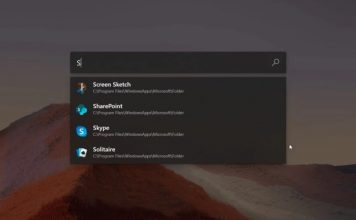 windows 10 gets spotlight-like launcher