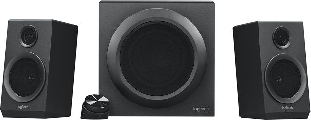 1. Logitech Z333 2.1 Speaker System