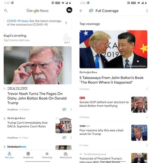 12. Google News