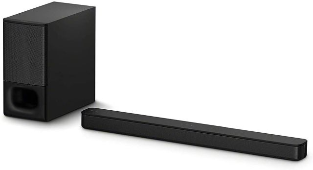 2. Sony HT-S350 Soundbar with Wireless Subwoofer