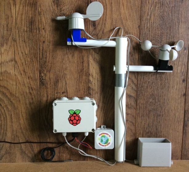 6. Build Your Own Weather Station