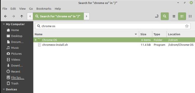 Install Chrome OS