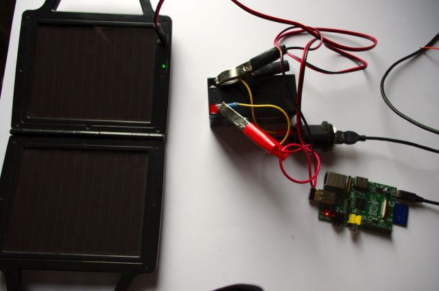 9. Build a Solar Powered Raspberry Pi 4 Best Raspberry Pi 4 Projects