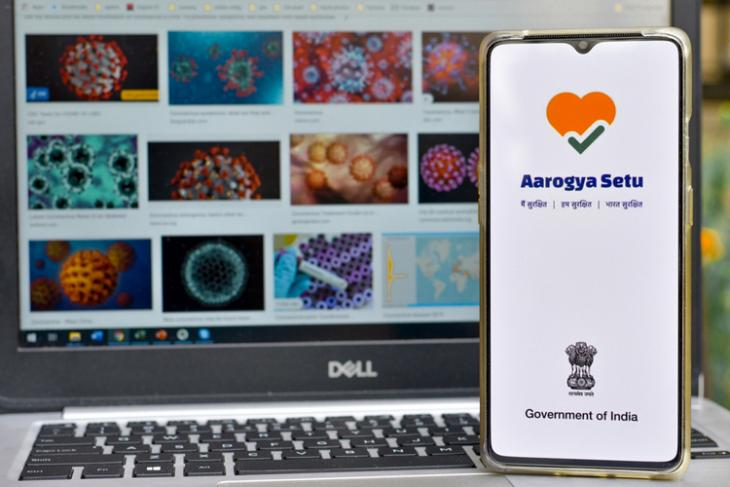 Aarogya Setu app shutterstock website