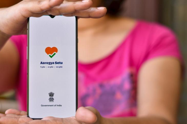 Aarogya Setu shutterstock website