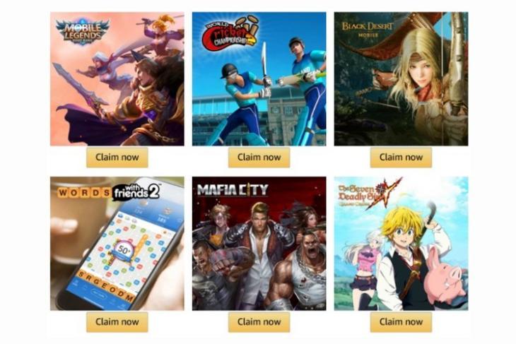 Amazon prime gaming feat.