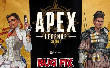Apex Legends Bug fix feat.