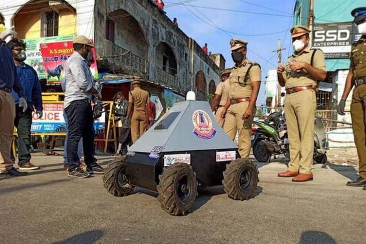 Chennai Robot Cop LD v5.0 website