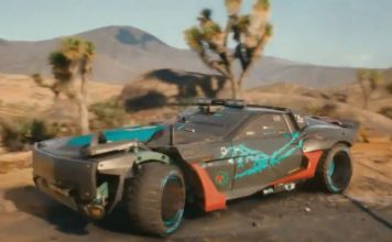 Cyberpunk 2077 mad max car feat.