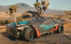 Cyberpunk 2077 mad max car feat.