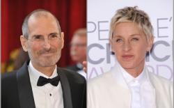 Ellen called steve job feat. (1)