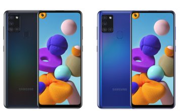 Galaxy A21s launched with 5G support