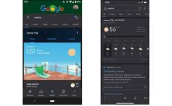 Google app gets Dark Mode