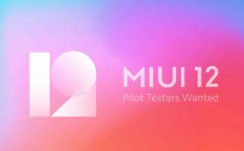 MIUI 12 Pilot Testing program india