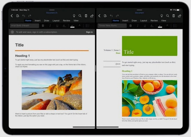 Microsoft split view 1